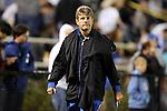 12 October 2012: Duke head coach John Kerr, Jr. The University of Maryland Terrapins defeated the Duke University Blue Devils 2-1 at Koskinen Stadium in Durham, North Carolina in a 2012 NCAA Division I Men's Soccer game.
