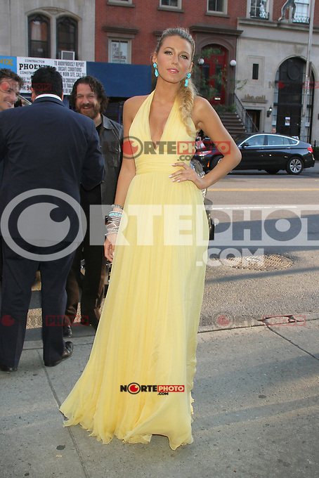 June 27, 2012 Blake Lively at the special screening of Universal Pictures' Savages at the SVA Theater in New York City. &copy; RW/MediaPunch Inc /*NORTEPHOTO.COM*<br />
