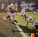 Oakland Raiders running back Jalen Richards (30) makes touchdown on Saturday, December 24, 2016, at O.co Coliseum in Oakland, California.  The Raiders defeated the Colts 33-25.