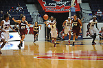 "Ole Miss' Valencia McFarland (3) vs. UMass at the C.M. ""Tad"" Smith Coliseum in Oxford, Miss. on Saturday, December 8, 2012."