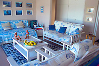GANSBAAI, SOUTH AFRICA, DECEMBER 2004. At home at Brians' beach House in Kleinbaai. Brian Mc Farlane organises Great White Shark cage diving tours out of Gansbaai. Gansbaai is one of the best places in the world to see the Great white in its natural habitat. Photo by Frits Meyst/Adventure4ever.com