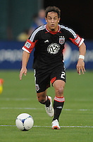 D.C. United midfielder Danny Cruz (2) D.C. United defeated Toronto FC 3-1 at RFK Stadium, Saturday May 19, 2012.