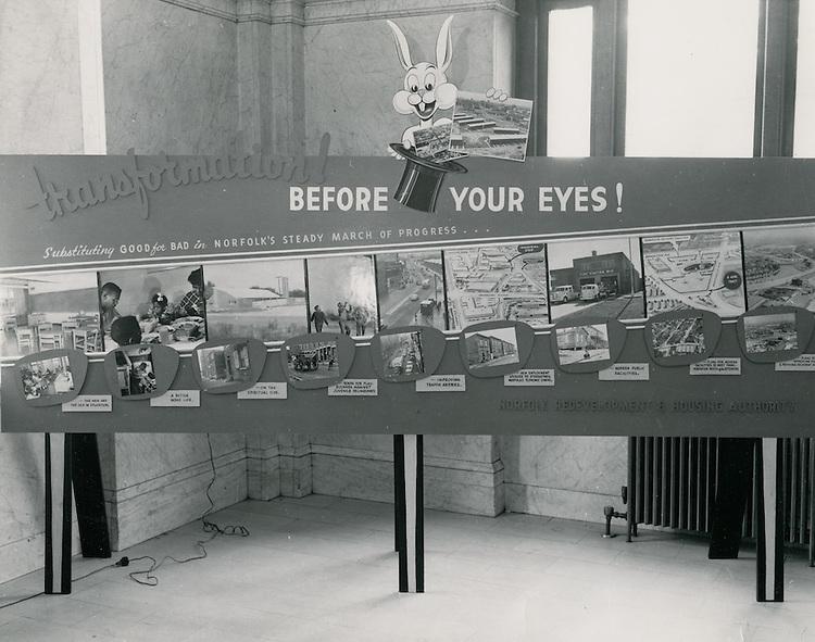 1964 ??...City Hall Exhibit..McIntosh Studio.NEG#.NRHA# 413..