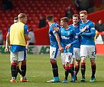 Rangers celebrate at full-time