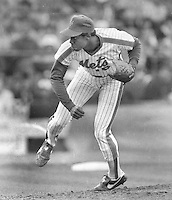 N.Y Mets pitcher Dwight Gooden in the 1984 All-Star game in San Francisco..(photo/Ron Riesterer)