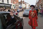 Lichfield Greenhill Bower. Lichfield Staffordshire. England. Procession around the town.