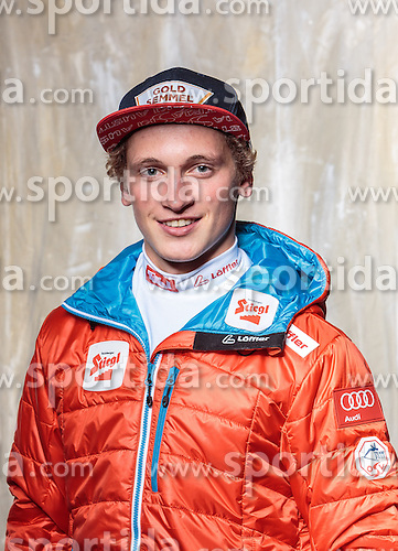 08.10.2016, Olympia Eisstadion, Innsbruck, AUT, OeSV Einkleidung Winterkollektion, Portraits 2016, im Bild Daniel Rieder, Nordische Kombination, Herren // during the Outfitting of the Ski Austria Winter Collection and official Portrait Photoshooting at the Olympia Eisstadion in Innsbruck, Austria on 2016/10/08. EXPA Pictures © 2016, PhotoCredit: EXPA/ JFK