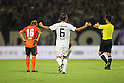 Toshihiro Aoyama (Sanfrecce),.AUGUST 11, 2012 - Football / Soccer :.Toshihiro Aoyama #6 of Sanfrecce Hiroshima celebrates as Jun Kanakubo #16 of Omiya Ardija looks dejected after the 2012 J.League Division 1 match between Omiya Ardija 1-2 Sanfrecce Hiroshima at NACK5 Stadium Omiya in Saitama, Japan. (Photo by Hiroyuki Sato/AFLO)
