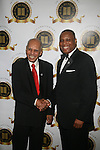 Tuskegee Airmen Roscoe C. Brown and Fitzgerald Miller Attend the One Hundred Black Men, Inc. 33rd Annual Benefit Gala Honoring The Hon. David N. Dinkins, Former New York City Mayor and One Hundred Black Men Founder, The Hon. H. Carl McCall, Former New York State Comptroller and Chairman, Board of Trustees, SUNY, Kevin Newell, Executive Vice President and Global Chief Brand Officer, McDonald's Corporation Vivian Pickard, President of GM Foundation, General Motors Corporation, James Reynolds, Jr., Chairman & CEO, Loop Capital Markets Held at New York Marriott Marquis, NY   2/21/13