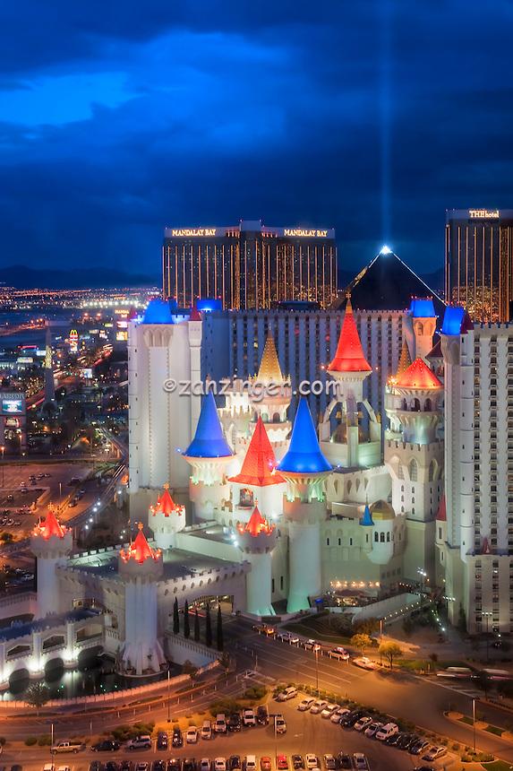 Las Vegas Nevada, Excaliber Hotel Casino Hospitality