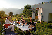 Abruzzo National Park, Italy, June 2008. Camping La Genziana is owned by Pasetta, the grandson of the last wolfhunter in the Abruzzo mountains.  Photo by Frits Meyst/Adventure4ever.com