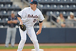 Ole Miss' Matt Tracy (29) pitches against Samford at Oxford-University Stadium in Oxford, Miss. on Tuesday, March 22, 2011.