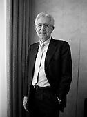 POLAND OUT / NIE DO SPRZEDAZY W POLSCE ///  New Italian Prime Minister Mario Monti, former UN commissioner, at the Sheraton Hotel. .Warsaw, Poland, October 21, 2011. (photo by Piotr Malecki / Napo Images) ..Mario Monti, znany wloski polityk .Warszawa, Hotel Sheraton, 21/10/2011.Fot: Piotr Malecki / Napo Images.