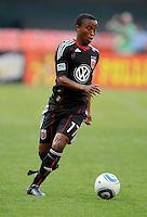 DC United midfielder Thabiso Khumalo (17).  DC United defeated The Kansas City Wizards  2-0 at RFK Stadium, Wednesday  May 5, 2010.