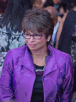 Valerie Jarrett, Senior Advisor to the President of the United States and Assistant to the President for Public Engagement and Intergovernmental Affairs arrives prior to US President Barack Obama delivering remarks at BET&rsquo;s &ldquo;Love and Happiness: A Musical Experience&rdquo; on the South Lawn of the White House in Washington, DC on Friday, October 21, 2016.<br /> Credit: Ron Sachs / Pool via CNP /MediaPunch