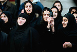 Muslim Women during a  procession to celebrate Ashura in Glasgow February 9th 2006. Millions have been taking part  in ceremonies around the world to celebrate the martirdom of Iman Hussein in Karbala