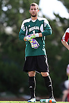 27 November 2011: Indiana's Luis Sofner. The University of North Carolina Tar Heels defeated the Indiana University Hoosiers 1-0 in overtime at Fetzer Field in Chapel Hill, North Carolina in an NCAA Men's Soccer Tournament third round game.