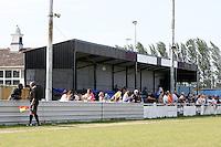 Main stand at Wadham Lodge - Inter Moore (blue/black) vs Stratford Juniors (white) - East London Sunday League Jubilee Cup Final at Wadham Lodge - 01/05/11 - MANDATORY CREDIT: Gavin Ellis/TGSPHOTO - Self billing applies where appropriate - Tel: 0845 094 6026