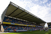 - Millwall vs Blackpool - NPower Championship Football at the New Den, London - 18/08/12 - MANDATORY CREDIT: Ray Lawrence/TGSPHOTO - Self billing applies where appropriate - 0845 094 6026 - contact@tgsphoto.co.uk - NO UNPAID USE.
