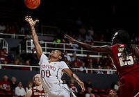 STANFORD, CA-NOVEMBER 14, 2014- The Stanford Cardinal defeats visiting Boston College in the 2014-2015 season home opener at Maples Pavilion.