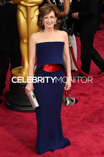 HOLLYWOOD, LOS ANGELES, CA, USA - MARCH 02: Anne Sweeney at the 86th Annual Academy Awards held at Dolby Theatre on March 2, 2014 in Hollywood, Los Angeles, California, United States. (Photo by Xavier Collin/Celebrity Monitor)