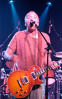 Gene Ween plays with the band Ween at Higher Ground in South Burlington, Vermont.