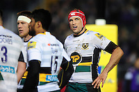 Christian Day of Northampton Saints looks on after his team concede a try. Aviva Premiership match, between Bath Rugby and Northampton Saints on February 10, 2017 at the Recreation Ground in Bath, England. Photo by: Patrick Khachfe / Onside Images