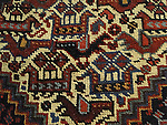 ATP-409 | ANTIQUE PERSIAN AFSHAR BIRD RUG