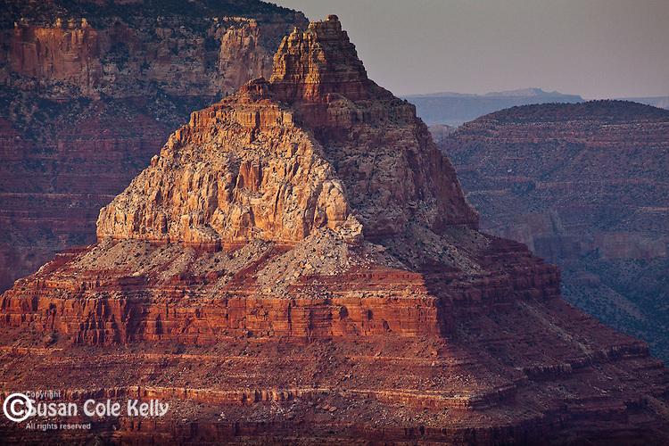 Vishnu Temple seen from Grandview Point, Grand Canyon National Park, AZ, USA