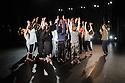 "London, UK. 07.04.2016. National Youth Dance Company presents the premiere of ""In-Nocentes"" at Sadler's Wells. Choreographed by Michael Keegan-Dolan, Artistic Director for NYDC for 2015 - 2016, with lighting design by Peter Harrison, set and costume design by Laura Hopkins. NYDC is touring the work from 26 June – 23 July 2016. The dancers are: Monique Ademilola, Jasmine Bayes, Tomas Brennan, Jamie Buchanan, Arthur Clayton, Isis Clunie, Olivia Doyle, Lucia Fortune-Ely, Christian Griffin, Bar Groisman, Rachael Harrison, Alex Henderson, Amie Hibbert, Christopher Hicks, Tommy Hodgkins, Noga Inspector, Taitlyn Jaiyeola, Kaylee Jaiyeola, Ethan Joseph, Niamh Keeling, Rose Lewis, Blue Makwana, Dominic McAinsh, Iona McGuire, Kennedy Muntanga, Daniel Nattrass, Jessica Nixon, Jasmine Norton, Ethan Nott, Chris Pilbeam, David Prempeh, Jackson Shallcross-Platt, Kia Skilbeck, Ben Todd-Jones, Tre Usoro-Williams, Chad Wakefield, Molly Walker, John-William Watson, George Williams, Hallam Wood. Photograph © Jane Hobson"