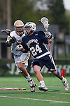 May 1, 2009:    #24 DeAlmeida, Alex of Quinnipiac in action during the NCAA Lacrosse game between Notre Dame and Quinnipiac at GWLL Tournament in Birmingham, Michigan. (Credit Image: Rick Osentoski/Cal Sport Media)