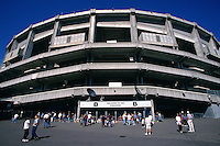 SEATTLE, WA - General stadium overall exterior view of the Kingdome, home of the Seattle Mariners, before a game in 1997 in Seattle, Washington. Photo by Brad Mangin