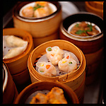 Dim sum is the name for a Chinese Cuisine which involves a wide range of liht dishes served along Chinese tea.