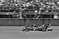 BROOKLYN, MI - JULY 16: Danny Ongais drives his Parnelli VPJ6B/VPJ Cosworth during the Norton Twin 200 IndyCar race at Michigan International Speedway near Brooklyn, Michigan, on July 16, 1978.