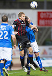 St Johnstone v Inverness Caledonian Thistle....22.02.14    SPFL<br /> Richie Foran and Dave Mackay<br /> Picture by Graeme Hart.<br /> Copyright Perthshire Picture Agency<br /> Tel: 01738 623350  Mobile: 07990 594431