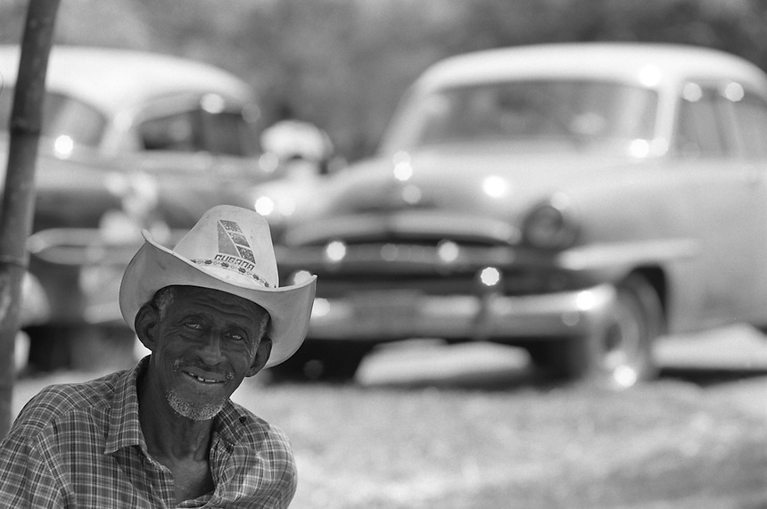 Elma's Puro Rodeo Cubano at the Parque Lenin in Havan, Cuba, August 2001.