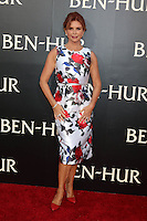 """HOLLYWOOD, CA - AUGUST 16: Roma Downey at the LA Premiere of the Paramount Pictures and Metro-Goldwyn-Mayer Pictures title """"Ben-Hur"""", at the TCL Chinese Theatre IMAX on August 16, 2016 in Hollywood, California. Credit: David Edwards/MediaPunch"""