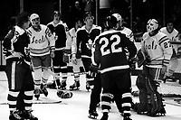 California Golden Seals vs Toronto Maple Leafs 1975<br />(photo/Ron Riesterer)