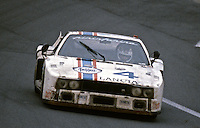 The #4 Lancia Beta Montecarlo Turbo of Carlo Facetti. Martino Finotto, and Gianfranco Ricci races to a 10th place finish at the 24 Hours of Daytona, Daytona International Speedway, Daytona Beach, FL, February 3, 1980.  (Photo by Brian Cleary/www.bcpix.com)