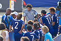 Ruy Ramos & Japan team group (JPN), SEPTEMBER 4, 2011 - Beach Soccer : FIFA Beach Soccer World Cup Ravenna-Italy 2011 Group D match between Ukraine 4-2 Japan at Stadio del Mare, Marina di Ravenna, Italy, (Photo by Enrico Calderoni/AFLO SPORT) [0391]