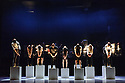 Edinburgh, UK. 08.08.2016. Holy Body Tattoo present MONUMENTAL, at the Playhouse, as part of the Edinburgh International Festival. Choreographers are: Noam Gagnon and Dana Gingras, who also directs the production. The dancers are: Caroline Gravel, Luise Michel Jackson, Kimberley de Jong, Shay Kuebler, Nicholas Lydiate, Louis-Elyan Martin, Esther Rousseau-Morin, Sovann Prom Tep, Jamie Wright. Photograph © Jane Hobson.