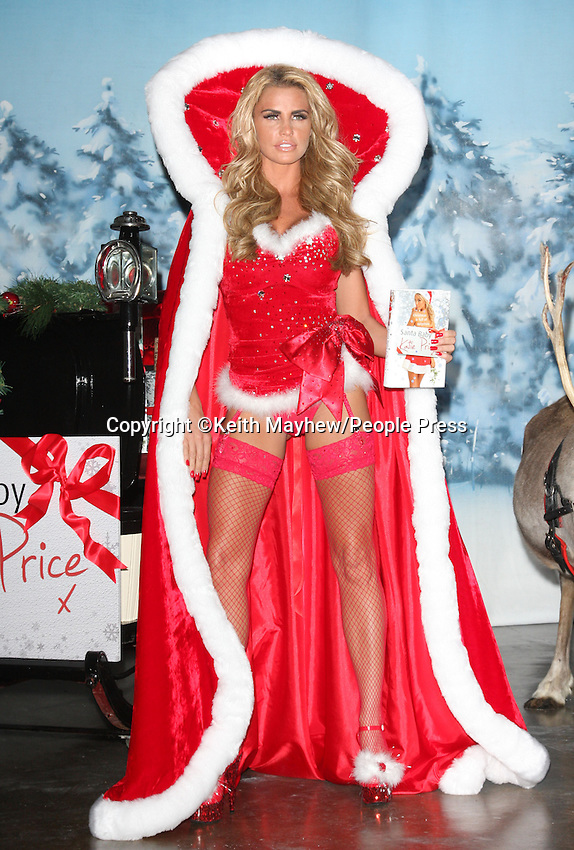 London - Katie Price launches her latest novel 'Santa Baby' at Worx Studio, London - November 2nd 2011..Photo by Keith Mayhew