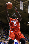 11 November 2016: Marist's Khallid Hart. The Duke University Blue Devils hosted the Marist College Red Foxes at Cameron Indoor Stadium in Durham, North Carolina in a 2016-17 NCAA Division I Men's Basketball game. Duke won the game 94-49.