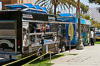 Komodo, Surfer Taco, Gourmet Food Trucks, Mid Wilshire, Los Angeles CA. Miracle Mile district.