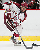 Greg Gozzo (Harvard - 13) - The visiting Brown University Bears defeated the Harvard University Crimson 2-0 on Saturday, February 22, 2014 at the Bright-Landry Hockey Center in Cambridge, Massachusetts.