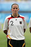 09 August 2008: Kerstin Stegemann (GER).  The women's Olympic soccer team of Germany defeated the women's Olympic soccer team of Nigeria 1-0 at Shenyang Olympic Sports Center Wulihe Stadium in Shenyang, China in a Group F round-robin match in the Women's Olympic Football competition.