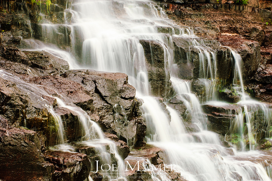 Middle Falls of the Gooseberry River, Gooseberry State Park, Two Harbors, Minnesota