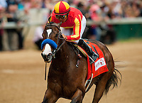 Contested with Martin Garcia up wins the Eight Bells Stakes at Churchill Downs in Louisville , Kentucky on May 4, 2012.