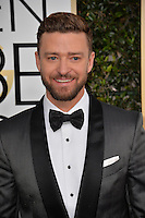 Justin Timberlake at the 74th Golden Globe Awards  at The Beverly Hilton Hotel, Los Angeles USA 8th January  2017<br /> Picture: Paul Smith/Featureflash/SilverHub 0208 004 5359 sales@silverhubmedia.com