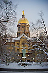 1.24.13 Dome Winter Morning 2.JPG by Matt Cashore/University of Notre Dame